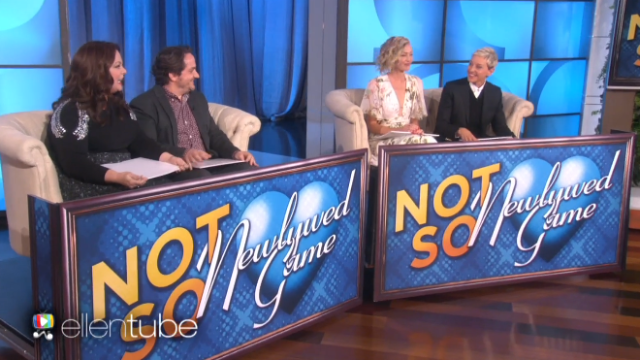 Ellen and Portia played the Newlywed Game with Melissa McCarthy and Ben Falcone.