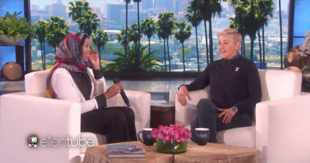 Teacher cries tears of joy after finding out Ellen DeGeneres is paying off her student debt.