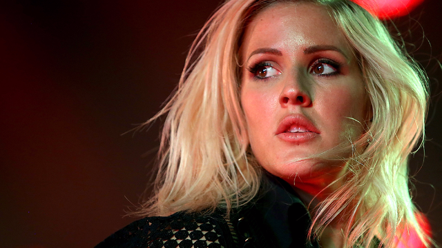 A tabloid said pop star Ellie Goulding looks like this horse, and even she had to agree.