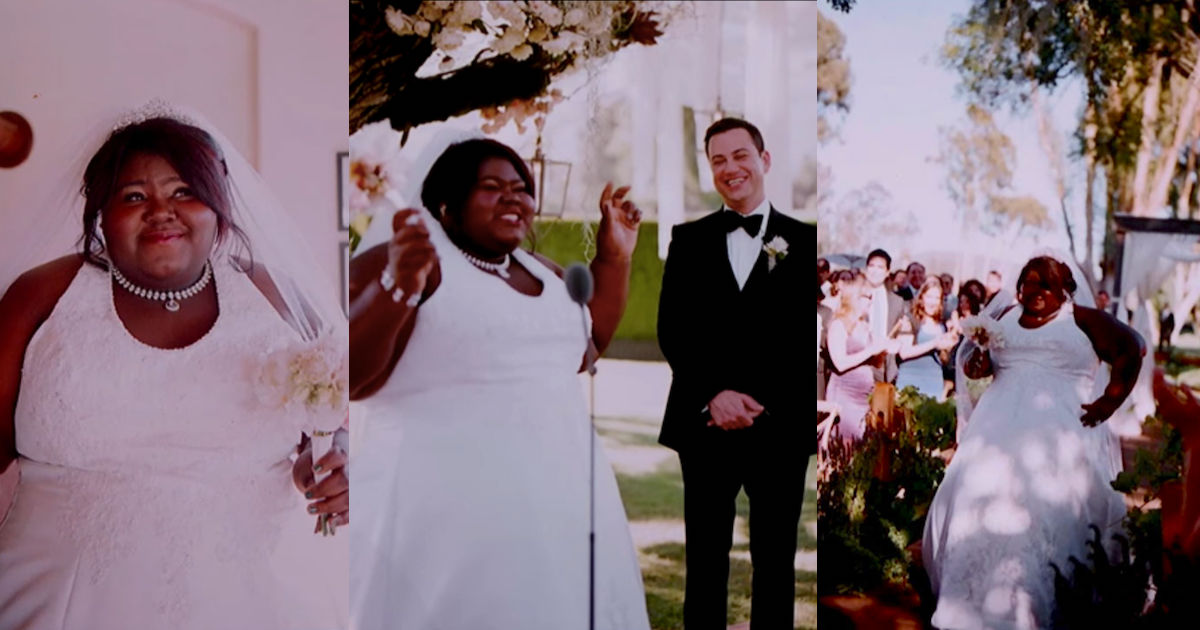 Gabourey Sidibe pranked Jimmy Kimmel at his own wedding—at his ...