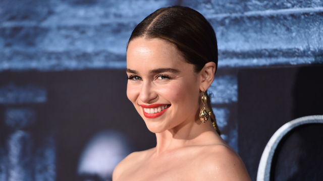 Emilia Clarke reveals that her mom's pranks are ruining her sex life.