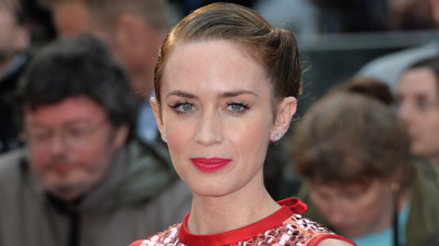 Emily Blunt responds to Howard Stern pestering her about Michael Bublé cheating rumors.
