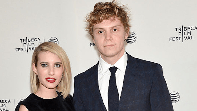 'American Horror Story' couple Emma Roberts and Evan Peters may be engaged. Again.
