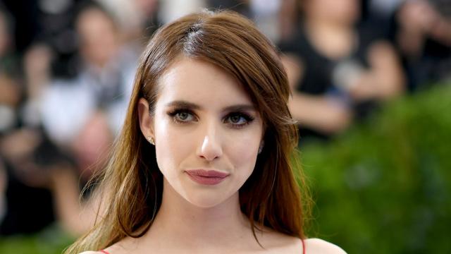 Emma Roberts' new short-short bangs are causing an uproar.