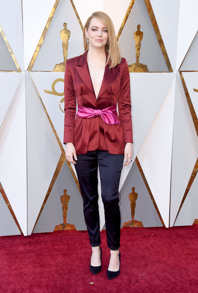 Emma Stone wore pants to the Oscars and people are excited.