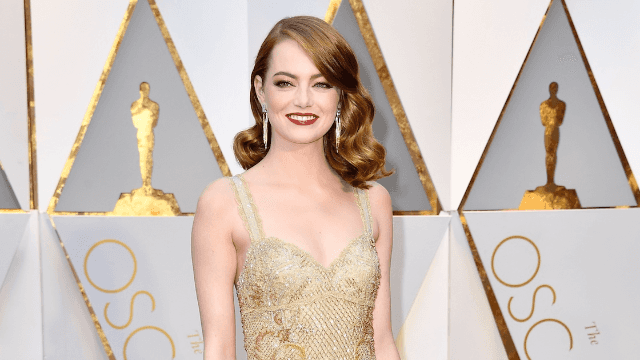 Emma Stone got a new summer hair color that matches the sun.