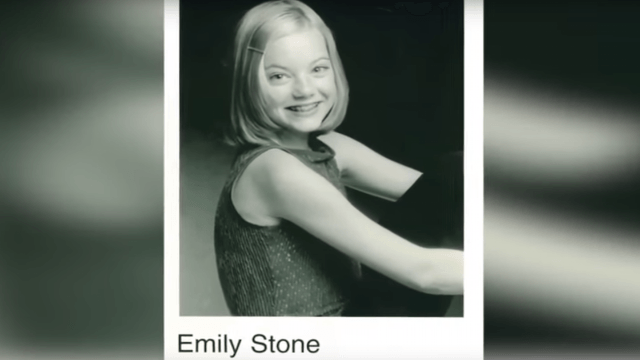 Local news station celebrated Emma Stone's Oscar win with adorable throwback videos from her childhood.