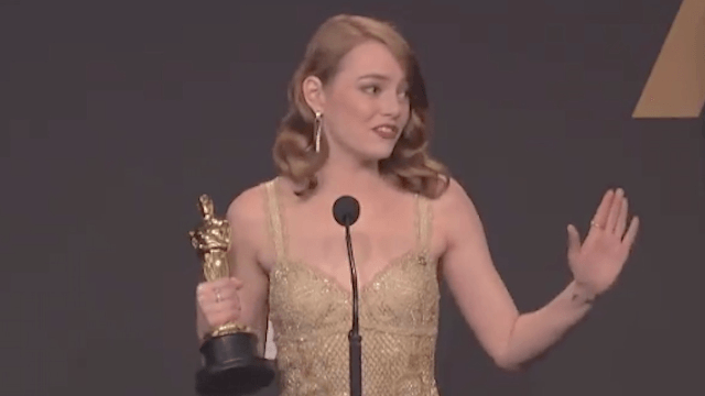 Emma Stone weighs in on that 'La La Land' Oscar snafu.