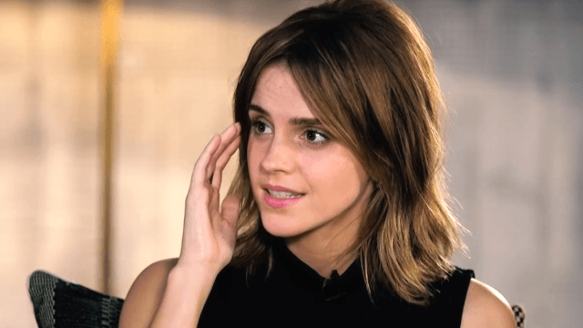 Emma Watson's response to the theory that Belle has Stockholm Syndrome proves that she IS the character.