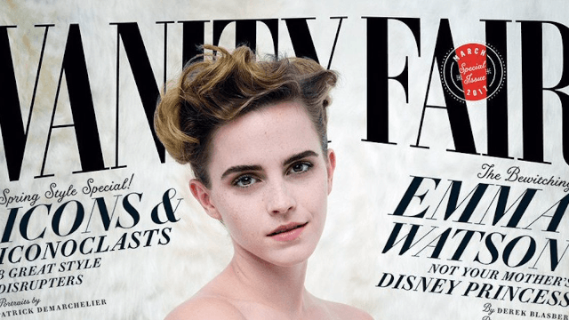 This braless photo of Emma Watson is causing a fuss for an obnoxious reason.