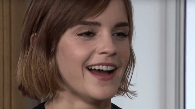 Emma Watson's phone rang during an interview, but her awesome ringtone saved the day.