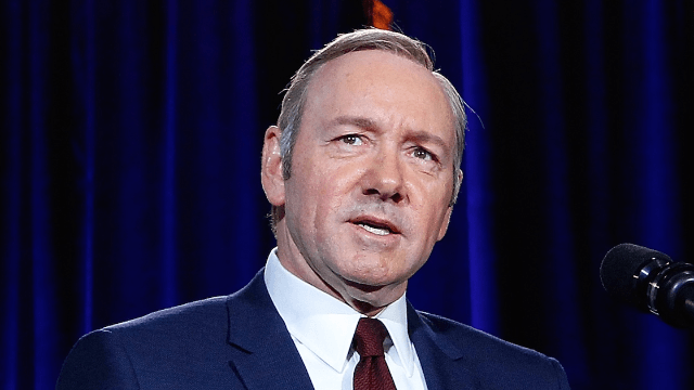 The real winner of the Emmys was the hot mystery man who came with Kevin Spacey.