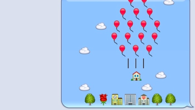13 Extremely Clever And Artistic Uses Of Emoji That Say -2644