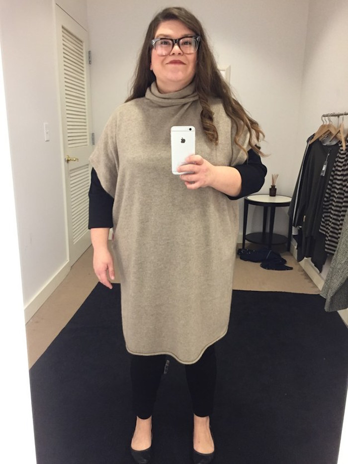 "A woman let different stores dress her in ""flattering"" outfits. Now she's even more confused."
