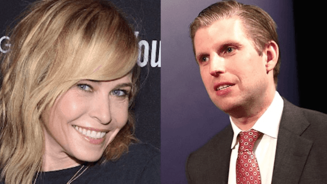 Eric Trump is mad at Chelsea Handler, just wishes people could be nice on Twitter.