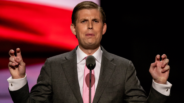 Eric Trump is sorry not sorry he's getting wasted on your dime. Sláinte!