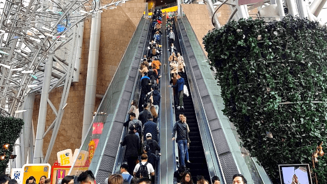 Watch your worst escalator fear come true and you'll never ride one again.