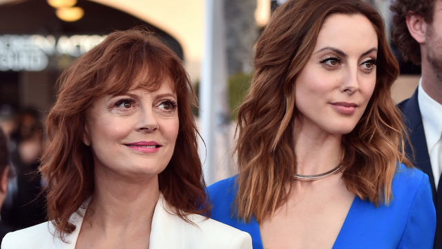 Susan Sarandon's daughter Eva Amurri had to fire her nanny for sexting her husband.