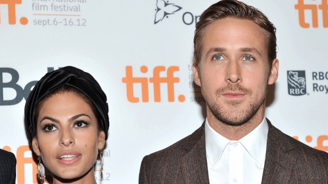 Eva Mendes explains why she and Ryan Gosling have two daughters with the same name.