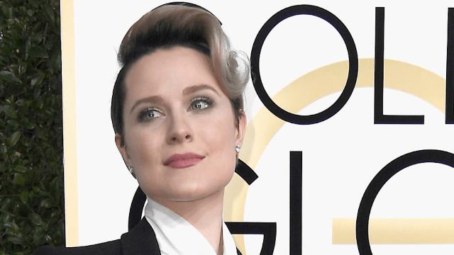Why 'Westworld' star Evan Rachel Wood didn't wear a dress to the Golden Globes.