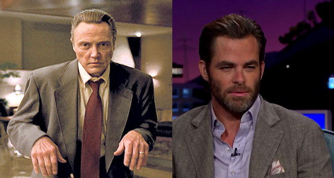 Even the guy who plays Captain Kirk uses Christopher Walken as his go-to impression.