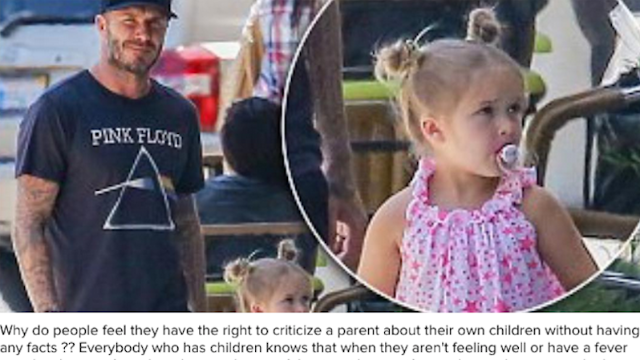 Daily Mail criticizes David Beckham's parenting, he criticizes their sh*tty reporting.