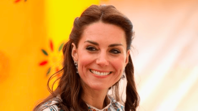 Even Kate Middleton has trouble taking a compliment: 'It's just the makeup,' apparently.