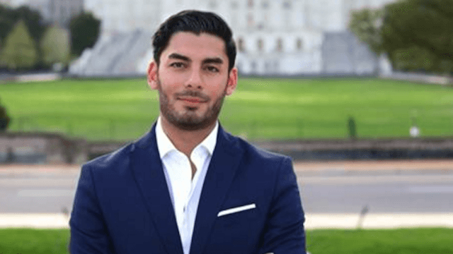 Everyone's losing it over this very attractive young Latino Arab American running for Congress.