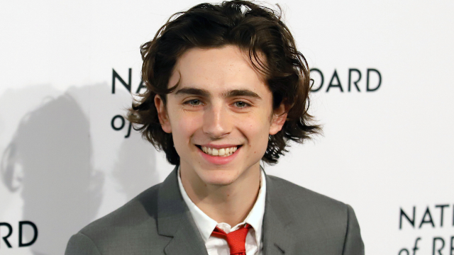 Everyone's losing it over Timothee Chalamet's 'sex dungeon' look at the Golden Globes.