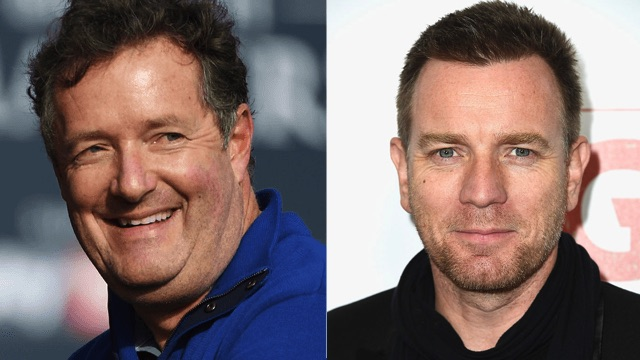 Ewan McGregor ditches Piers Morgan's show over Morgan whining about the Women's March.