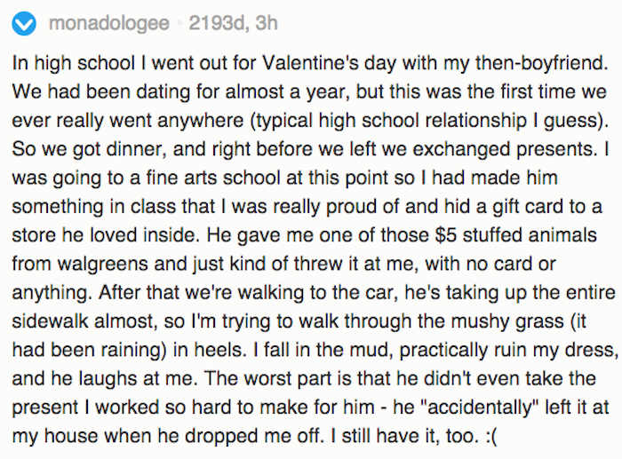People Shared Their Worst Valentine S Day Horror Stories And They
