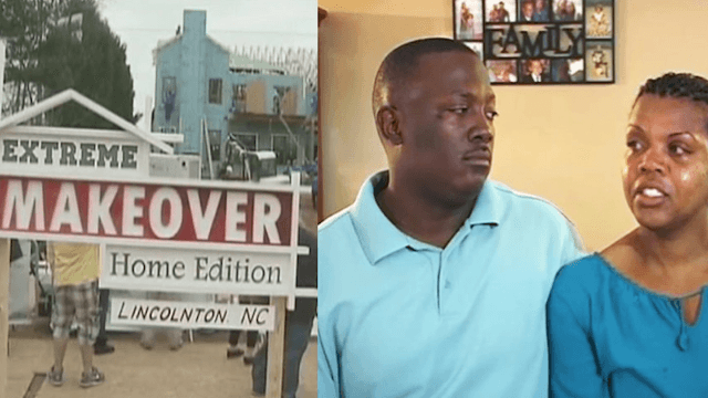 Couple allegedly ditched their 5 adopted children after getting their home made-over on 'Extreme Makeover Home Edition.'