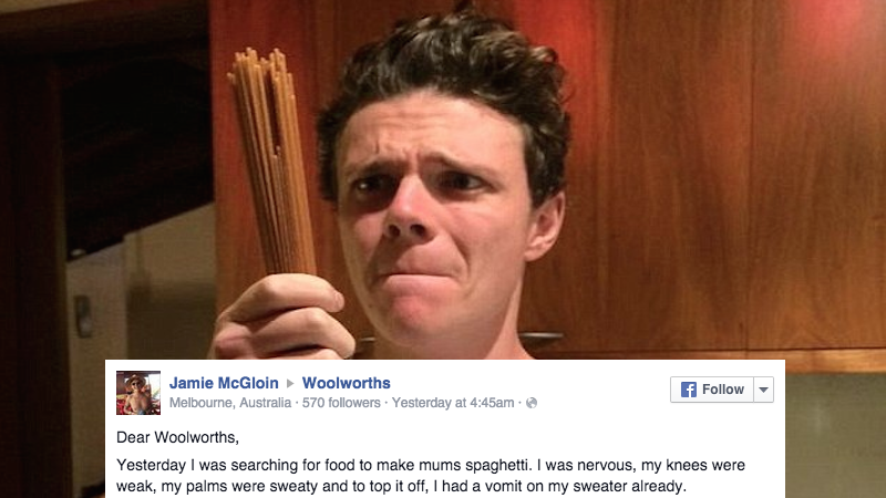 Guy tries to Facebook-troll a supermarket with rap lyrics, only to get schooled by MC Grocery.