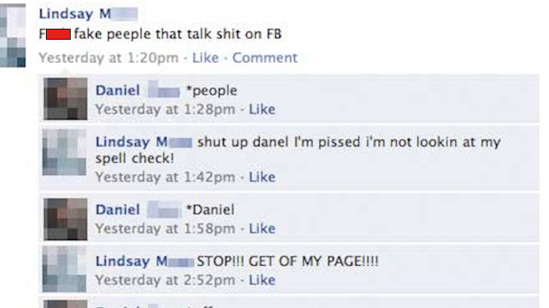 Here's your front row seat to 14 hilariously brutal Facebook fights.