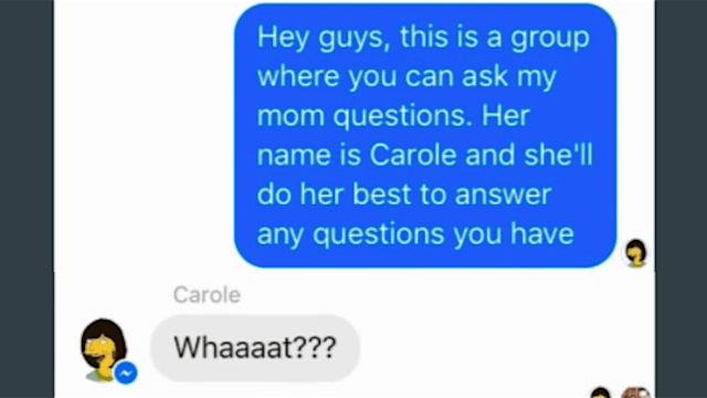 Comedian exploits weird Facebook Messenger features to make his friends and family awkward.