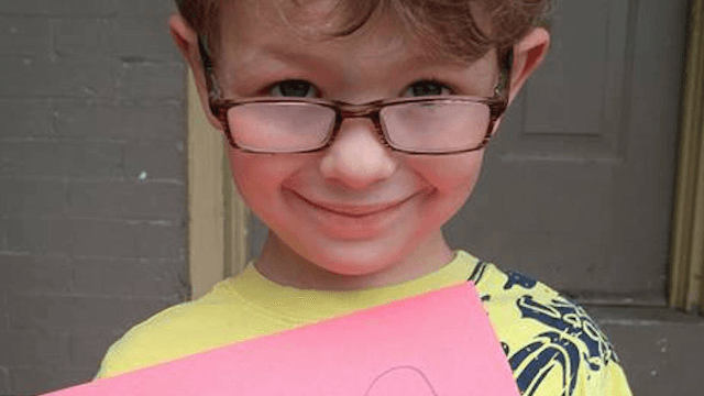 Mom warms internet's heart with Facebook post about her six-year-old son's nail polish.
