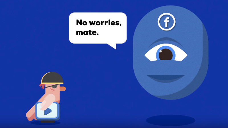 If you watch a video on Facebook, you're probably robbing the person who made it.