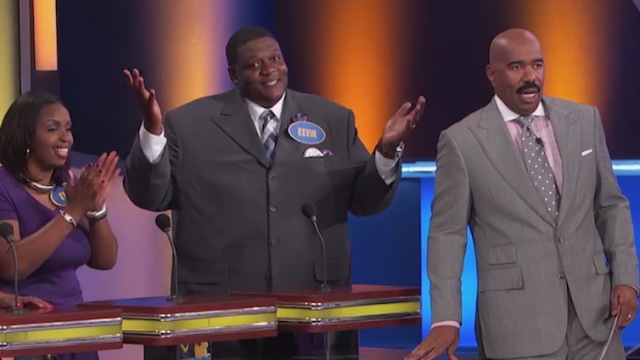 "This man can't help being honest, gives Steve Harvey his ""favorite"" Family Feud answer ever."
