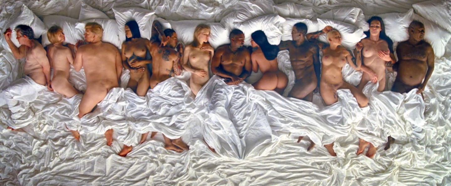 Kanye West's 'Famous' video is officially the weirdest naked-celebrity mystery on the Internet.