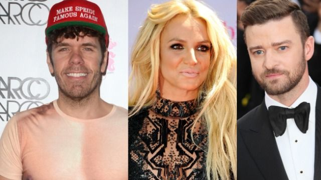 Fans bash Perez Hilton, Justin Timberlake for voicing support of Britney Spears.