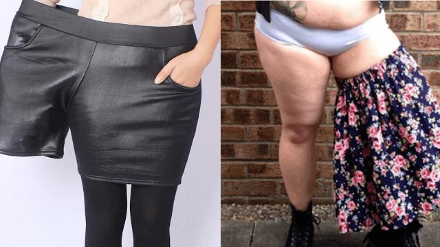 Designer has fantastically indignant Instagram response to bizarre fat-shaming ad.