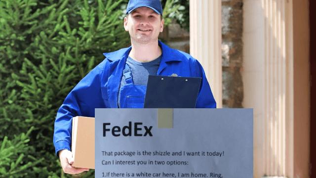 Fedex Ring Door Left Package