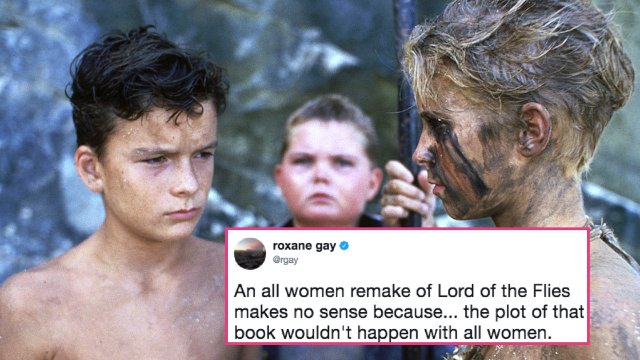 Twitter can't stop roasting the new, all-female reboot of 'Lord of the Flies.'