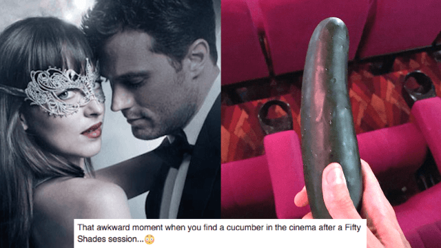 People Are Bringing Cucumbers To Screenings Of Fifty Shades Darker
