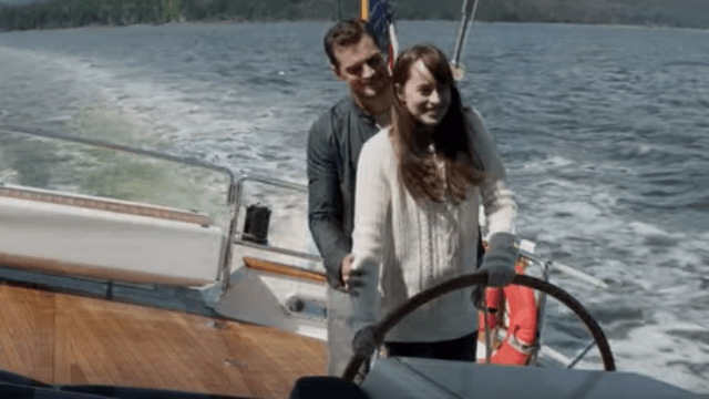 The 'Fifty Shades Darker' trailer just came out and it's oh-so-steamy.