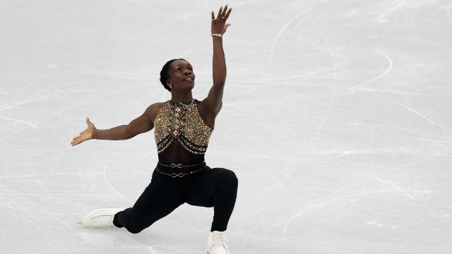 Leslie Jones freaked out over a figure skater's performance to Beyonce. The internet agrees.