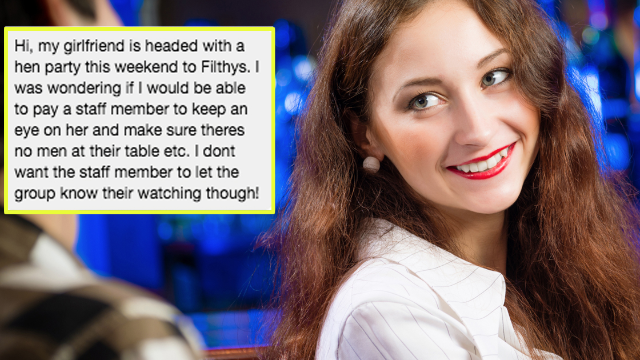 Man asks bar to 'casually stalk' his GF to see if she cheats. They busted him instead.