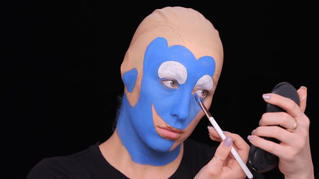 Makeup artist transforms herself into Dory, and it's deeply disturbing.