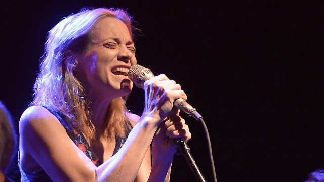 Fiona Apple's Christmas song roasts Trump's nuts on an open fire.