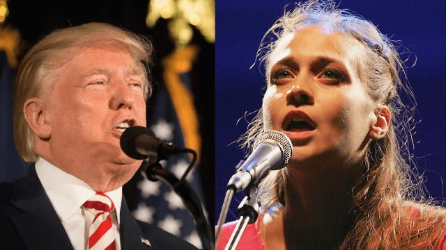Fiona Apple hits Donald Trump where it hurts with new song 'Tiny Hands.'